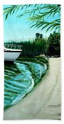 Upon Ashore Beach Towel
