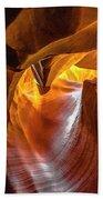 Upper Antelope Canyon Beauty Natural Beach Towel