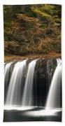 Upper Butte Creek Falls 2 Beach Towel