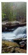 Upper Copeland Falls Beach Towel