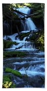 Upper Falls Beach Towel
