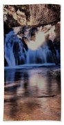 Upper Jemez Falls New Mexico Beach Towel