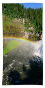 Upper Mesa Falls Beach Towel