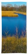 Upper Roxborough Reservoir Beach Towel