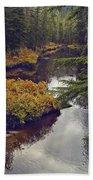 Upper Salamander Creek Beach Towel