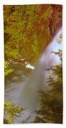 Upper Union Creek Falls  Beach Towel