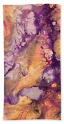 Upside Down Jellyfish And The Chicken Close Up Beach Towel