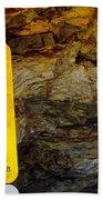 Uranium Mine In Capitol Reef Np Beach Towel