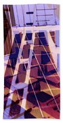 Urban Abstract 449 Beach Towel