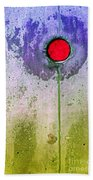 Urban Flower Beach Towel