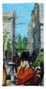 Urban Story - Champs Elysees Beach Towel