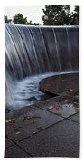 Urban Waterfall  Beach Towel