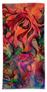 Urn Of The Fire Beach Towel