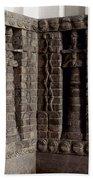 Uruk: Innin Temple Facade Beach Towel