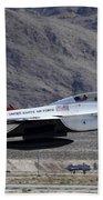 U.s. Air Force Thunderbird F-16 Beach Towel
