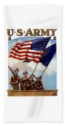 Us Army -- Guardian Of The Colors Beach Sheet
