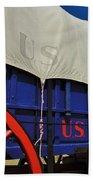 U S Army Supply Wagon Beach Towel