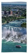 Niagara Falls Beach Towel