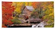Usa, West Virginia, Glade Creek Grist Beach Sheet