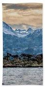 Ushuaia Ar 9 Beach Towel