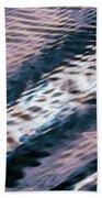 Ushuaia Ar - Ocean Ripples 1 Beach Towel