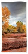 Utah Desert Wash Beach Towel