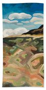Utah Hill #6 Beach Towel