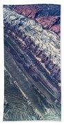 Utah Mountains High Altitiude Aerial Photo Beach Towel