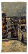 Utrillo: Mont-cenis Beach Towel