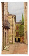 Uzes, South Of France Beach Towel