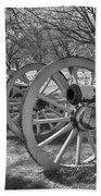 Valley Forge Battery Blackened White Beach Towel