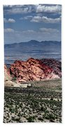 Valley Of Fire Iv Beach Towel