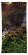 Valley Of Golden Light Beach Towel
