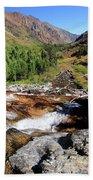 Valley Of Streams  Beach Towel by Sean Sarsfield