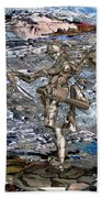 Valley Of The Dancing Zombie Beach Towel