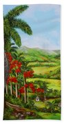 Yumuri Valley Beach Towel