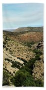 Valley View Of Whitesands Beach Towel
