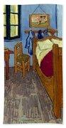 Van Gogh: Bedroom, 1889 Beach Sheet