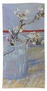 Van Gogh: Branch, 1888 Beach Sheet