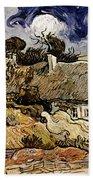 Van Gogh: Cordeville, 1890 Beach Towel