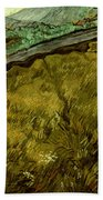 Van Gogh: Field, 1890 Beach Towel