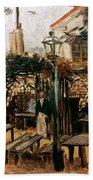 Van Gogh: Guingette, 1886 Beach Towel