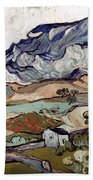 Van Gogh: Landscape, 1890 Beach Sheet