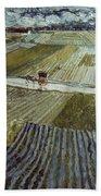Van Gogh: Landscape, C1888 Beach Sheet