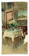 Van Gogh: Restaurant, 1887 Beach Sheet