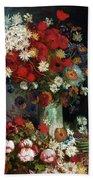 Van Gogh Still Life 1886 Beach Sheet