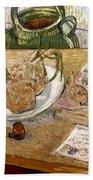 Van Gogh: Still Life, 1889 Beach Sheet