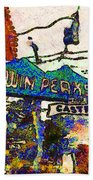 Van Gogh Takes A Wrong Turn And Discovers The Castro In San Francisco . 7d7547 Beach Towel