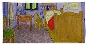 Van Goghs Bedroom At Arles Beach Sheet