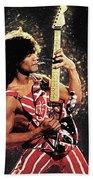 Van Halen Beach Towel
